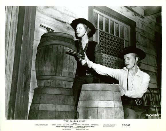 The Dalton Girls Lindsey Tries to Appreciate Westerns The Dalton Girls 1957 The