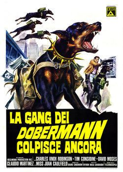 The Daring Dobermans 1973 Movie Poster