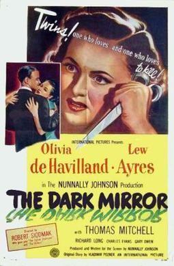 The Dark Mirror (film) The Dark Mirror film Wikipedia