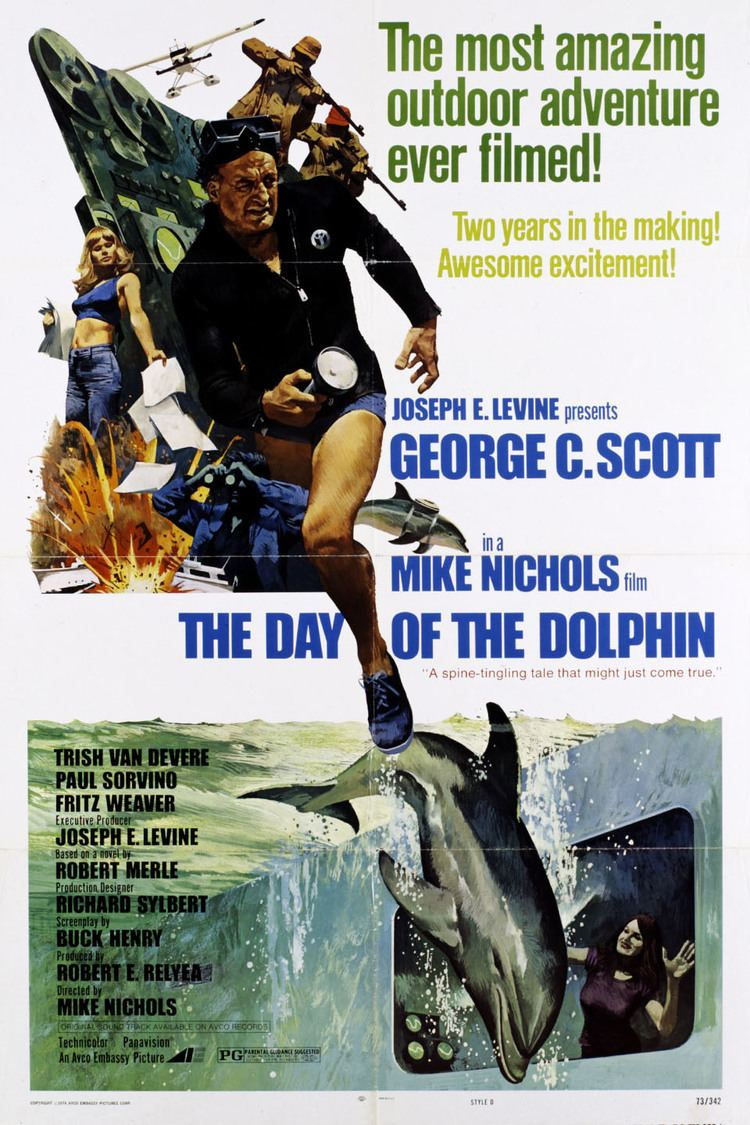 The Day of the Dolphin wwwgstaticcomtvthumbmovieposters2176p2176p