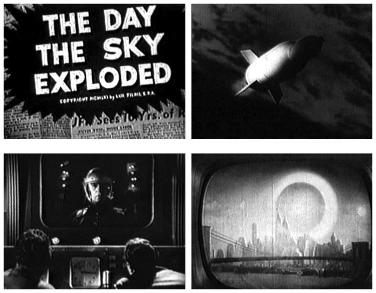 The Day the Sky Exploded Film Review The Day The Sky Exploded 1958 HNN