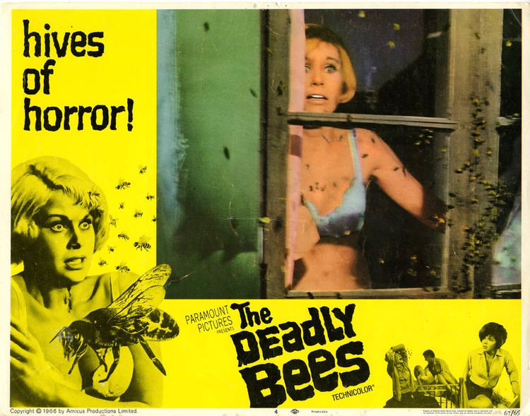 The Deadly Bees movie scenes The Deadly Bees Hives of