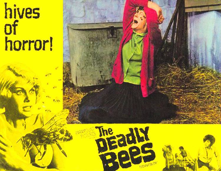The Deadly Bees movie scenes The television sequence toward The Deadly Bees HORRORPEDIA 900x698 Movie index com