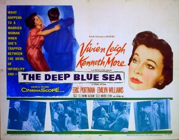 The Deep Blue Sea (1955 film) Mikes Movie Projector Lost and found The Deep Blue Sea 1955