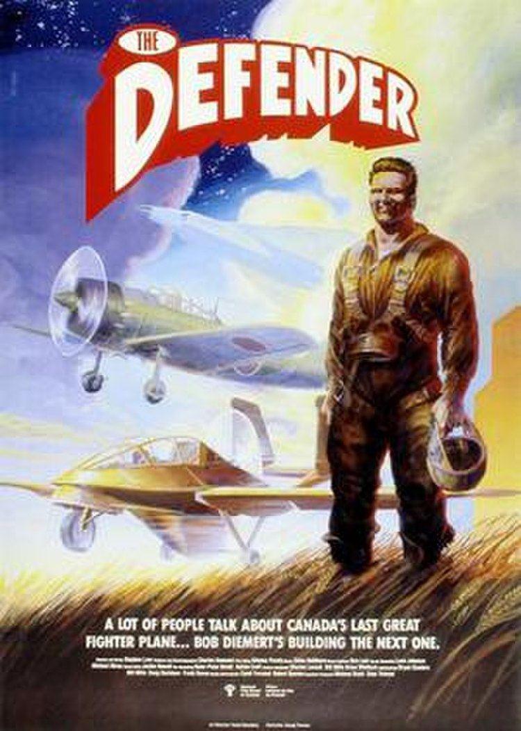 The Defender (1988 film) movie poster