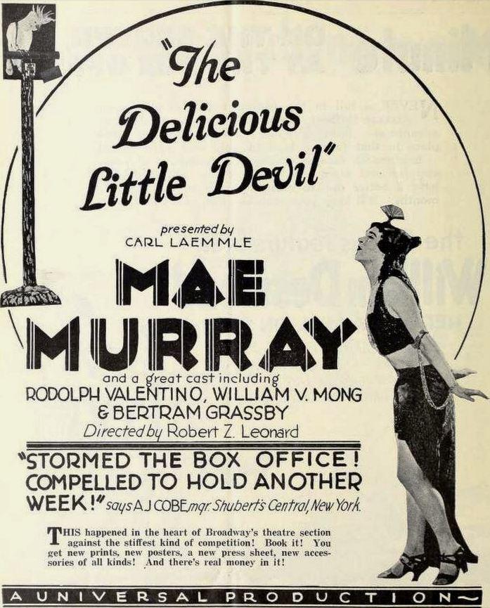 The Delicious Little Devil FileThe Delicious Little Devil 1919 Ad 1jpg Wikimedia Commons