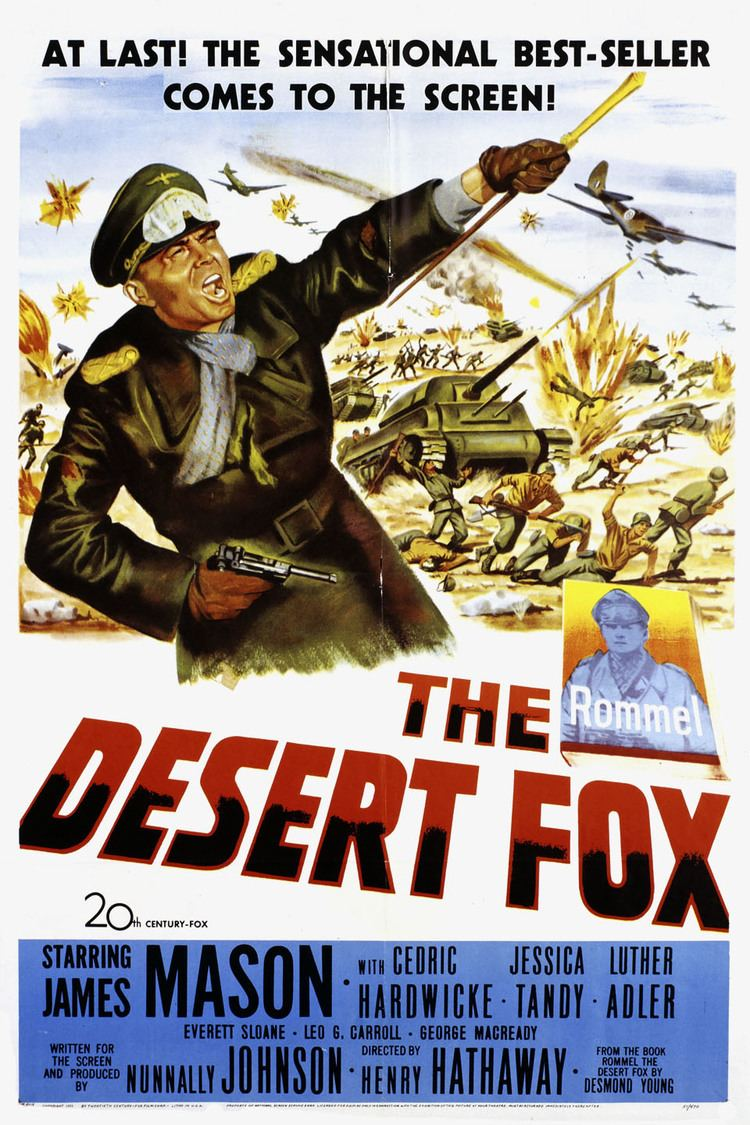 The Desert Fox: The Story of Rommel wwwgstaticcomtvthumbmovieposters3972p3972p