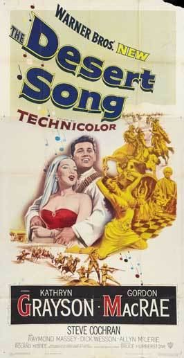 The Desert Song (1953 film) The Desert Song Movie Posters From Movie Poster Shop
