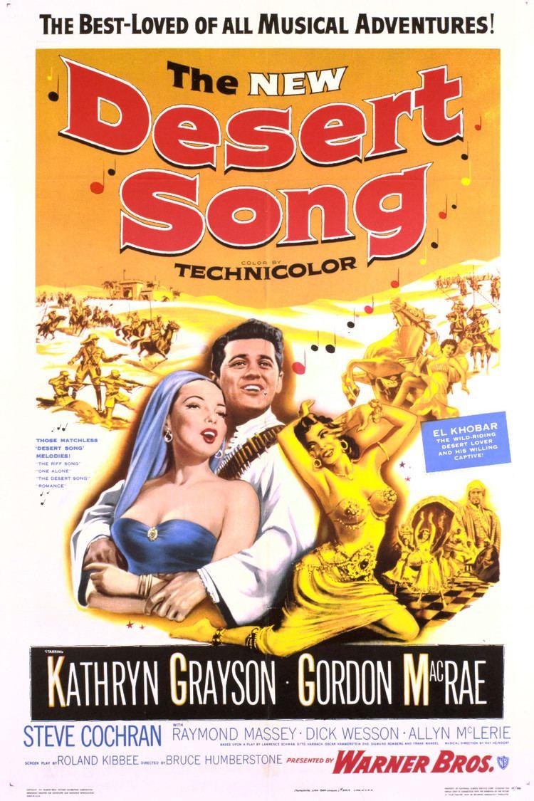 The Desert Song (1953 film) wwwgstaticcomtvthumbmovieposters38378p38378