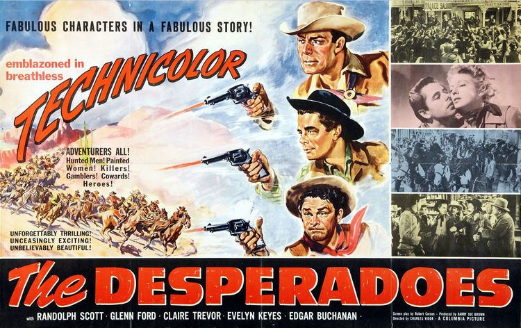 The Desperadoes Glenn Ford Westerns The Desperadoes 1943 My Favorite Westerns