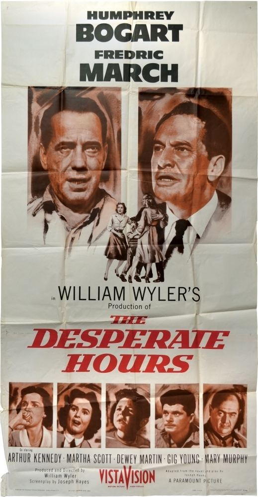 The Desperate Hours (film) The Desperate Hours William Wyler director Joseph Hayes novel