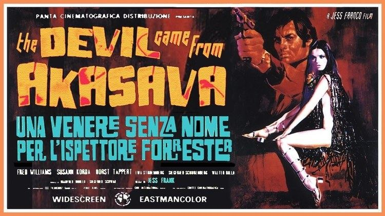 The Devil Came from Akasava The Devil Came From Akasava 1970 VHS Trailer Color 254 mins