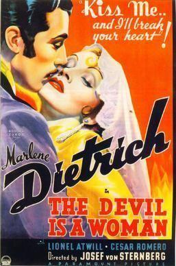 The Devil Is a Woman (1950 film) The Devil Is a Woman 1935 film Wikipedia
