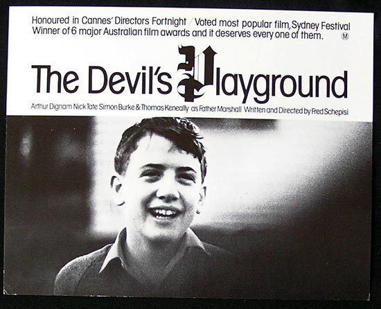 The Devil's Playground (1976 film) DEVILS PLAYGROUND Lobby Card 2 1976 Fred Schepisi