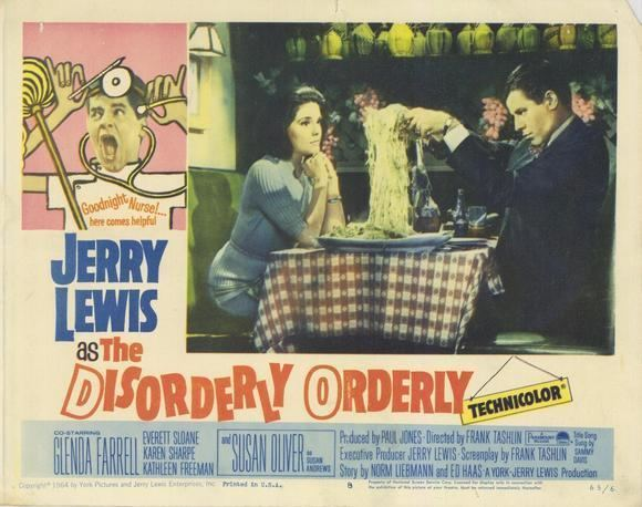 The Disorderly Orderly movie scenes The Disorderly Orderly