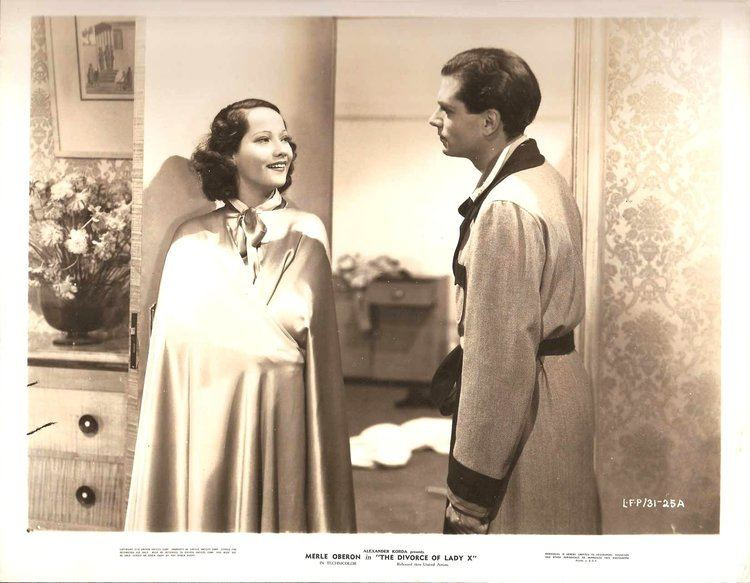 The Divorce of Lady X MERLE OBERON LAURENCE OLIVIER in The Divorce of Lady X Original