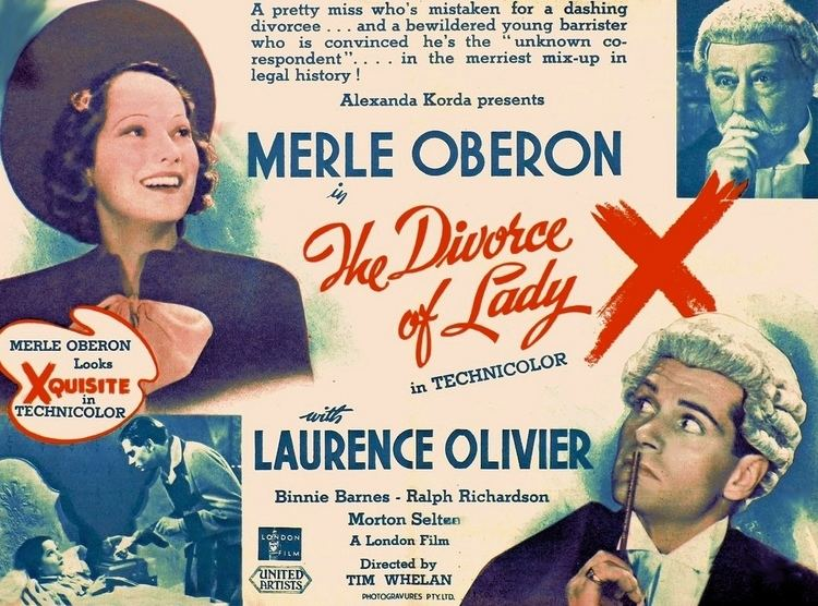 The Divorce of Lady X The Divorce of Lady X 1938 film