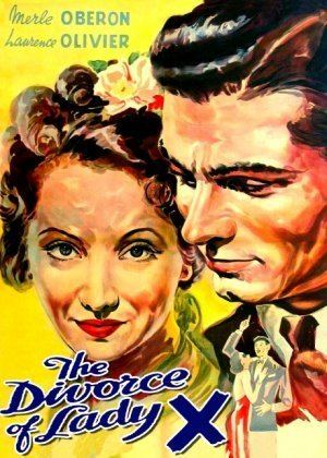 The Divorce of Lady X DIVORCE OF LADY X Merle Oberon LAWRENCE OLIVIER 1938 British Color