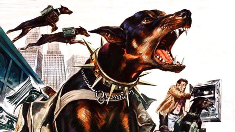 Amazon. Com: the doberman gang poster movie c 11x17 byron mabe hal.