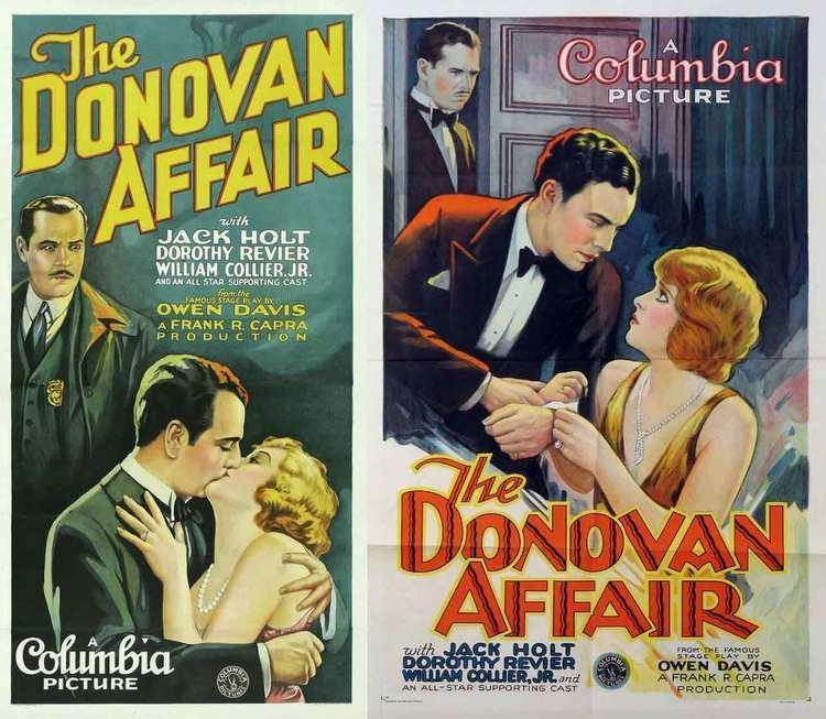 The Donovan Affair filmforumorgdonotenterormodifyoreraseclie