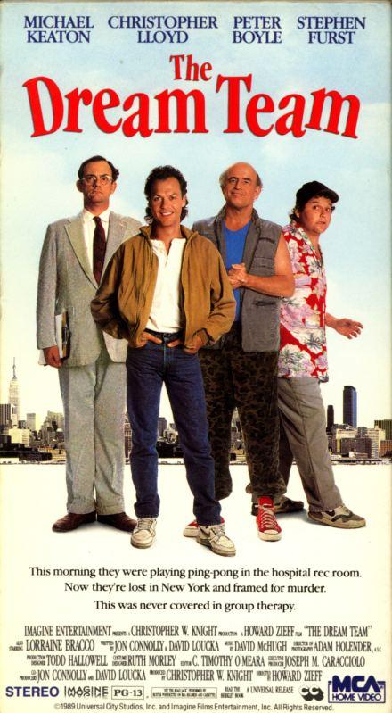 The Dream Team (film) The Dream Team VHS Island