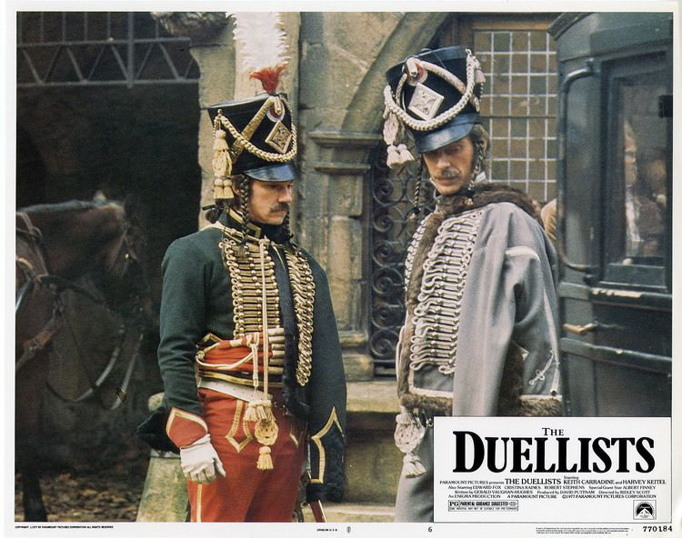 The Duellists 1977 The Duellists Film 1970s The Red List