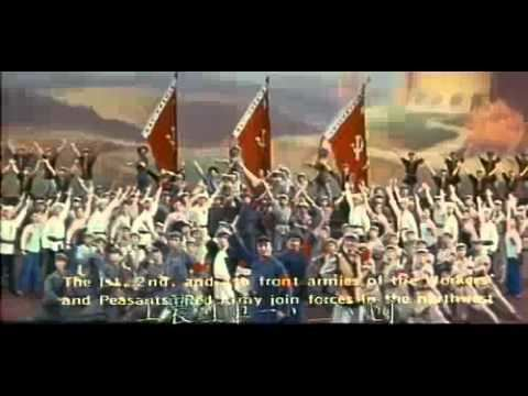 The East Is Red (1965 film) The East is Red 1964 YouTube