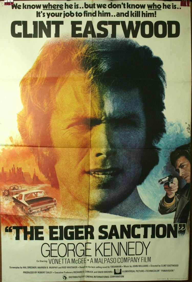 The Eiger Sanction (film) EIGER SANCTION Film poster directed by Clint Eastwood
