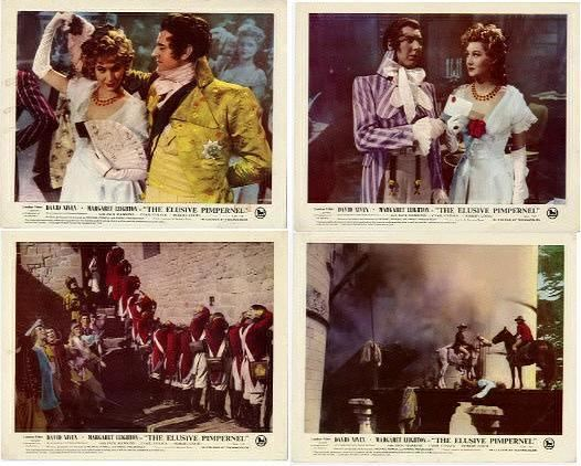 The Elusive Pimpernel Powell Pressburger Images The Elusive Pimpernel 1950