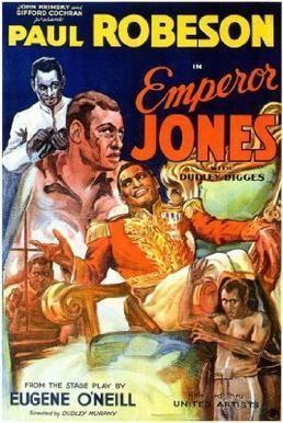 The Emperor Jones (1933 film) movie poster