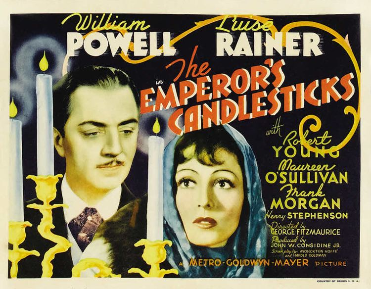 The Emperor's Candlesticks (film) The Emperors Candlesticks 1937