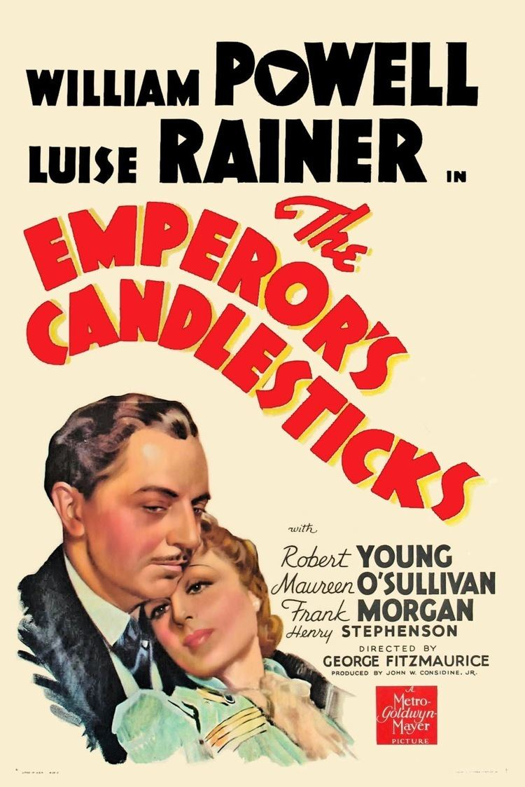 The Emperor's Candlesticks (film) Phyllis Loves Classic Movies The Emperors Candlesticks 1937