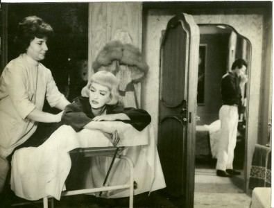 The Empty Canvas Bette Davis Horst Buchholz in The Empty Canvas 1963 vintage movie