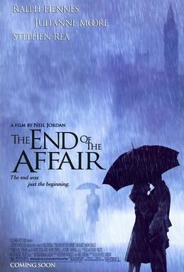 The End of the Affair (1999 film) movie poster