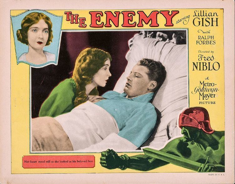The Enemy (1927 film) The Enemy 1927 film Wikipedia