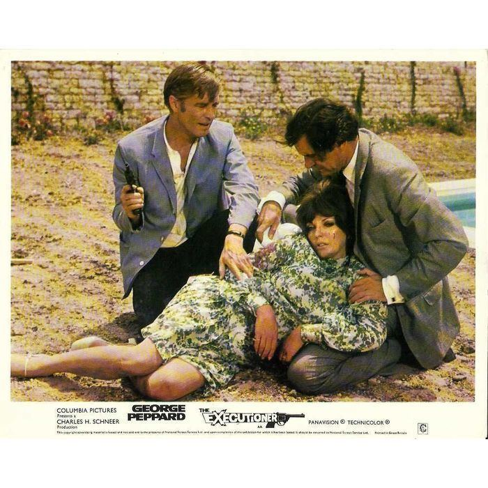 The Executioner (1970 film) THE EXECUTIONER George Peppard Judy Geeson Joan Collins FOH