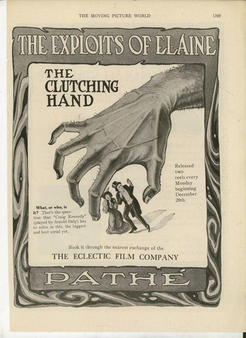 The Exploits of Elaine Exploits of Elaine Episodes 1 3 1914 Film Studies Center