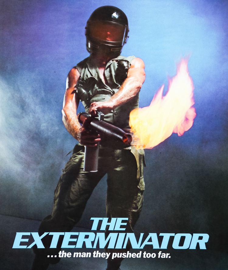 The Exterminator The Exterminator one sheet USA