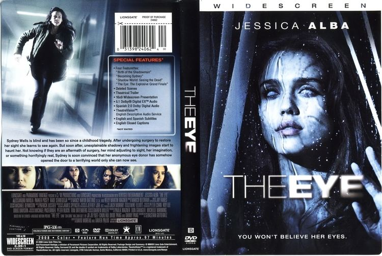 The Eye (2008 film) The Eye 2008 WS R1 Movie DVD CD Label DVD Cover Front Cover