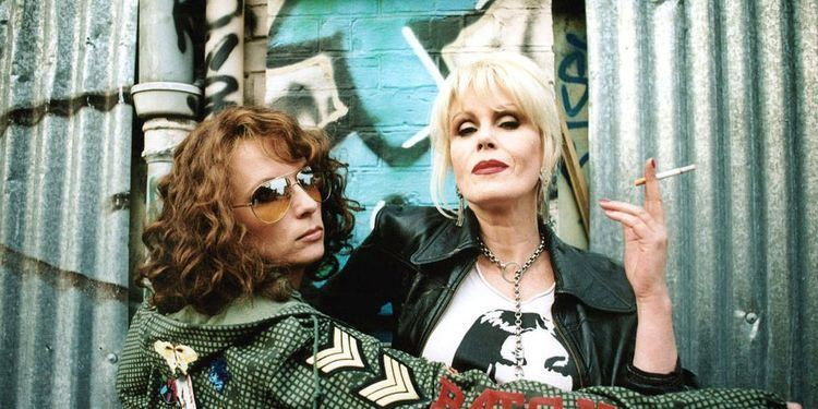 The Fab Five (film) movie scenes  Absolutely Fabulous Film News AbFab Best Clips