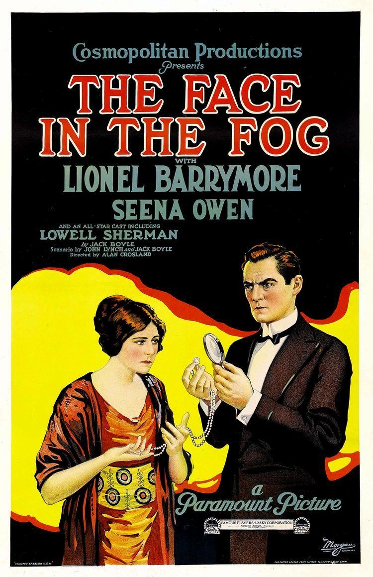 The Face in the Fog movie poster
