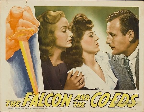 The Falcon and the Co-eds Falcon and the Coeds Lobby card