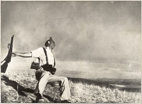 The Falling Soldier Robert Capa The Falling Soldier The Met