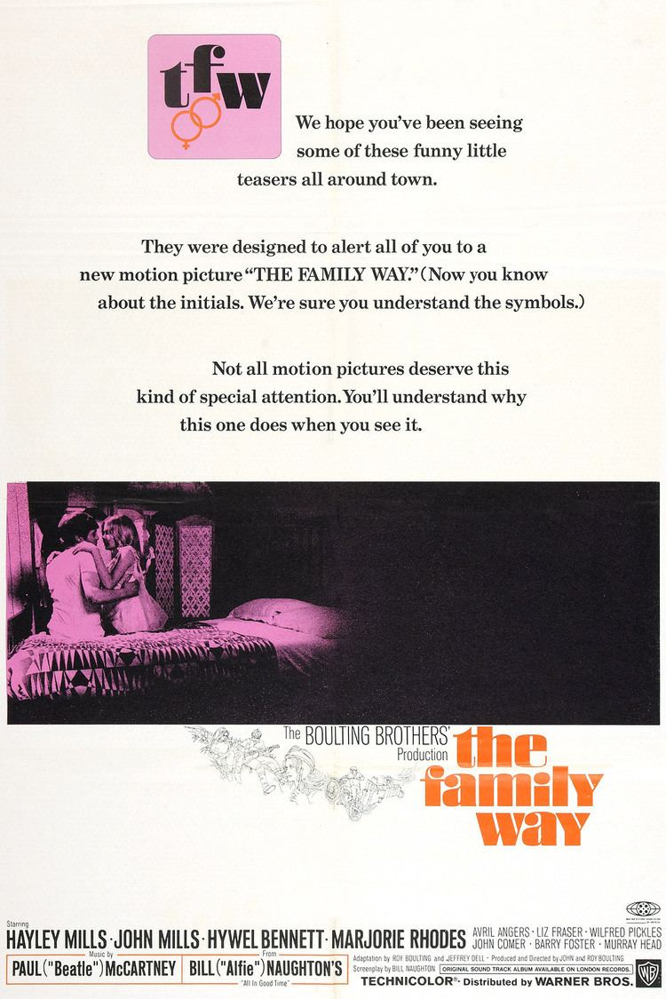 The Family Way wwwgstaticcomtvthumbmovieposters39138p39138