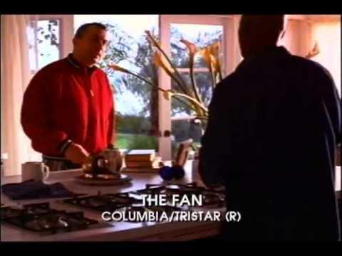 The Fan (1996 film) The Fan Movie Trailer 1996 Robert De Niro Wesley Snipes YouTube