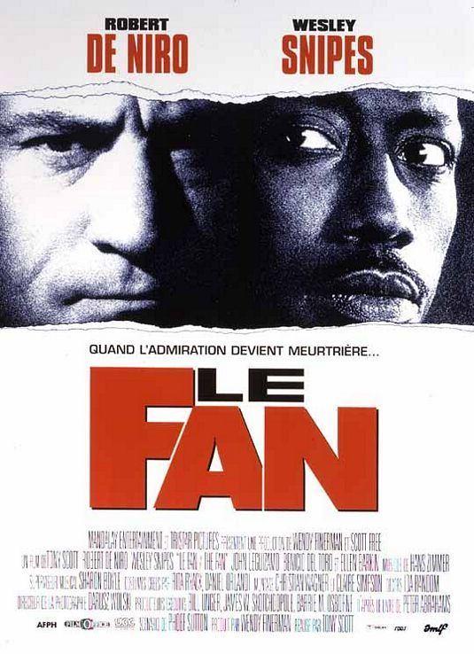 The Fan (1996 film) The Fan Movie Poster 2 of 2 IMP Awards