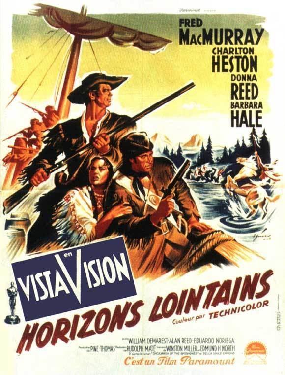 The Far Horizons THE FAR HORIZONS 1955 Fred MacMurray Charlton Heston Donna