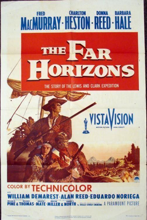 The Far Horizons 1955 The Far Horizons Charlton Heston Movie Poster