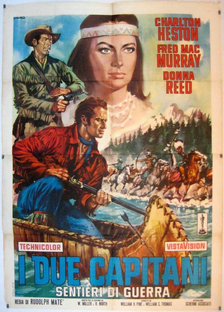 The Far Horizons THE FAR HORIZONS Charlton Heston Fred MacMurray Donna Reed