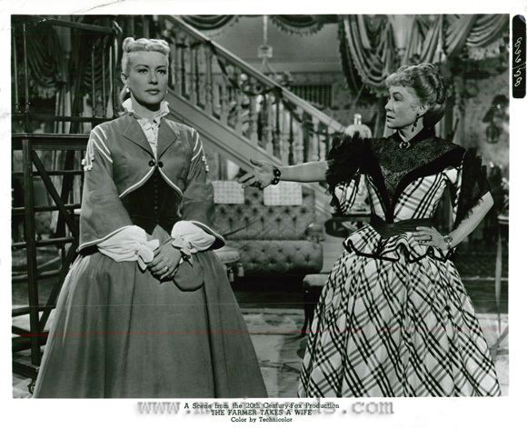 The Farmer Takes a Wife (1953 film) The Farmer Takes a Wife Betty Grable Thelma Ritter Betty Grable